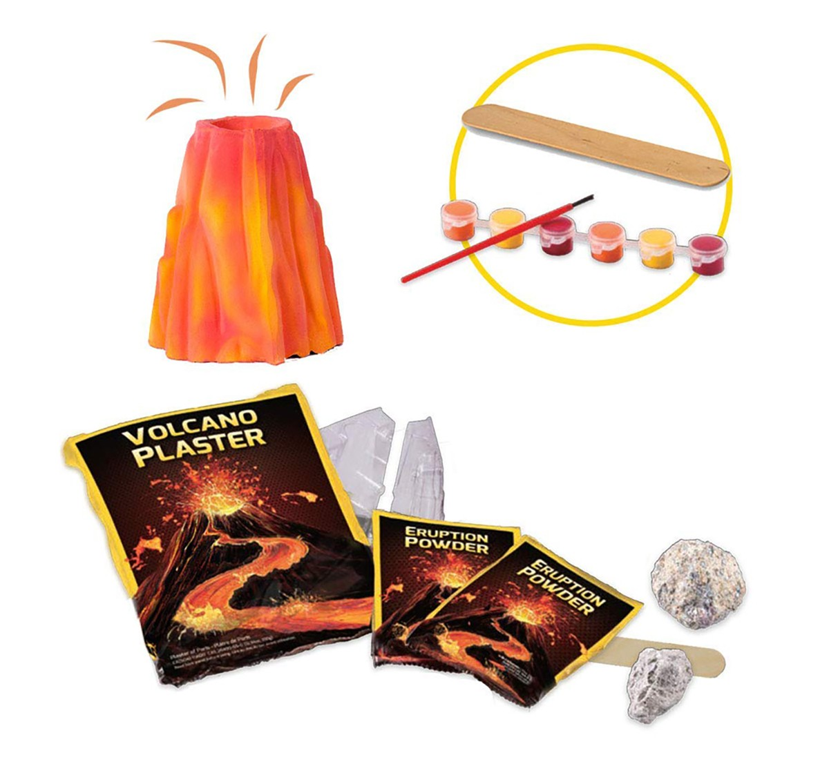 National Geographic Volcano Science Kit for Kids age 6Y+