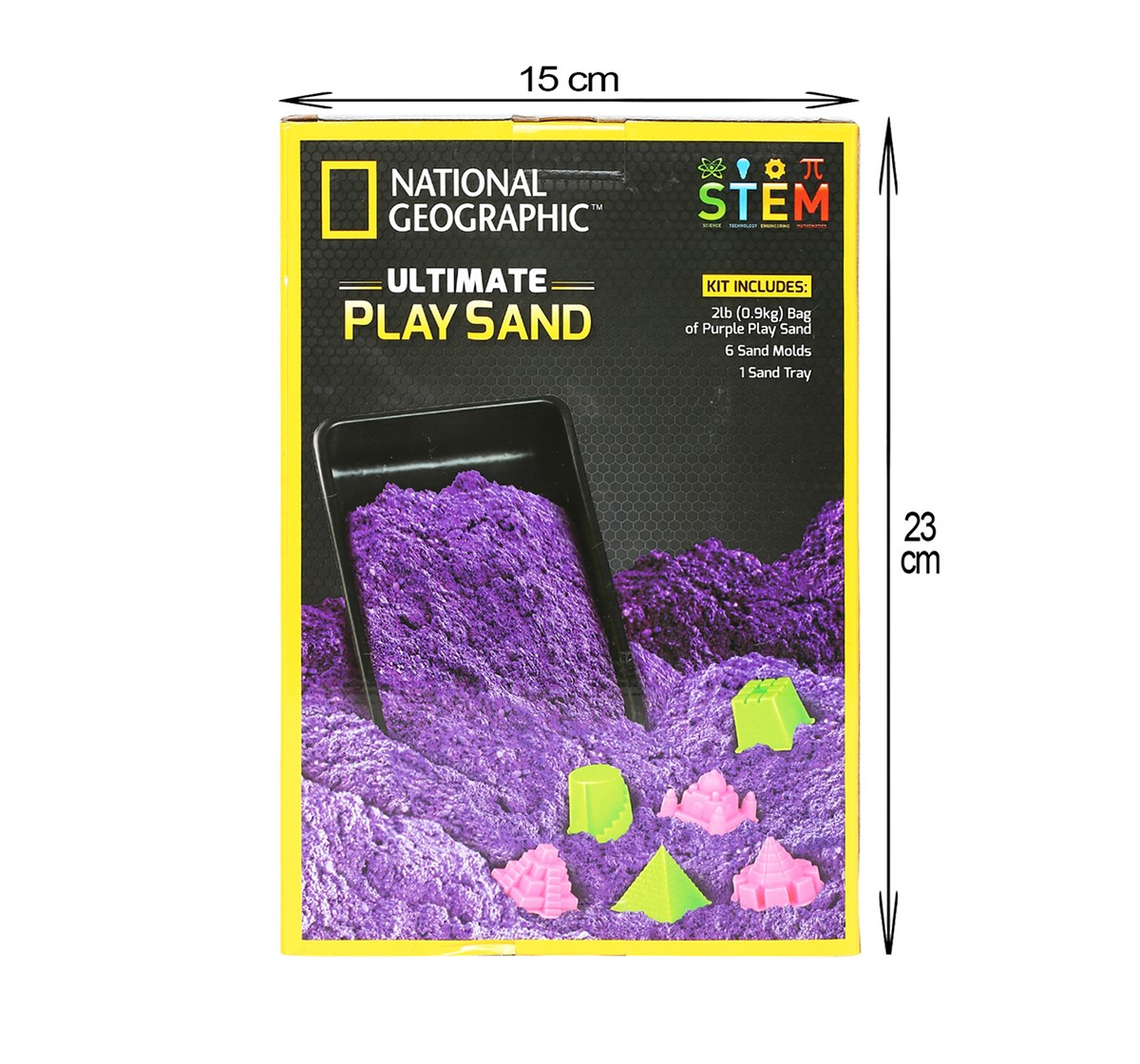 National Geographic Ultimate Play Sand for Kids age 3Y+ (Purple)