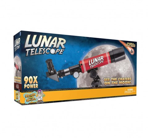 National Geographic Discover With Dr. Cool Lunar Telescope For Kids Science Equipments for Kids age 6Y+