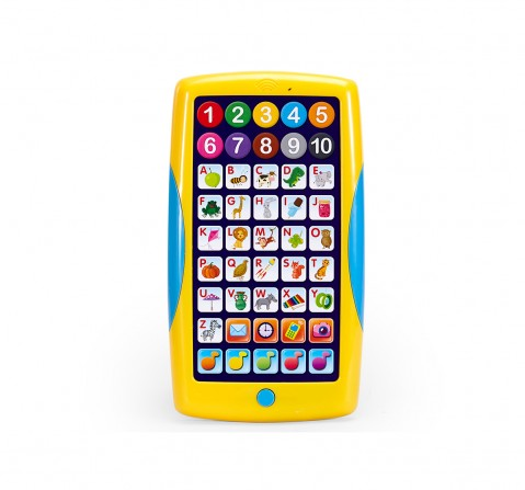 Comdaq AZ Smart Pad Multicolor Learning Toy for Kids age 3Y+