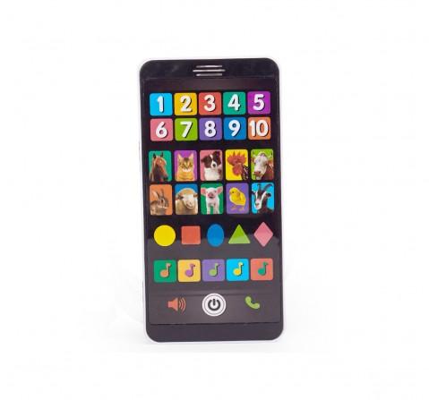 Comdaq AZ Baby Smartphone Learning Toy for Kids age 3Y+ (Black)