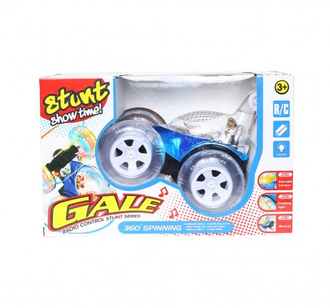 Gale Comdaq Gale Stunt Car With Remote Control 360 Spinning Remote Control Toys for Kids age 3Y+