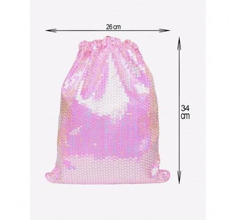 Luvley Ballet Drawstring Bag Pale Pink Drawstring  Girls Accessories age 3Y+