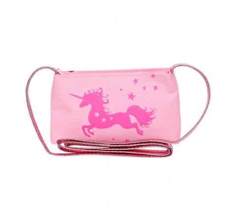 Luvley Hamleys Unicorn Print Shopping Bag - 3Y+ (Pink)