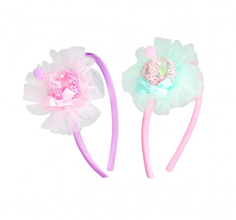 Luvley Birthday Party Hat Headband Assorted Girls Accessories  age 3Y+