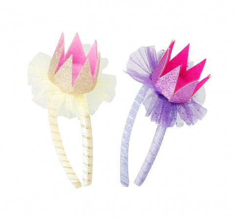 Luvley Birthday Party Crown Headband Assorted Girls Accessories age 3Y+