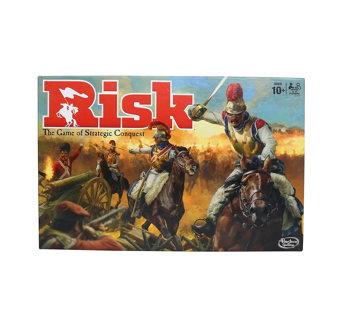 Hasbro Gaming Risk Game - A Game Of Strategic Conquest, age 10Y+