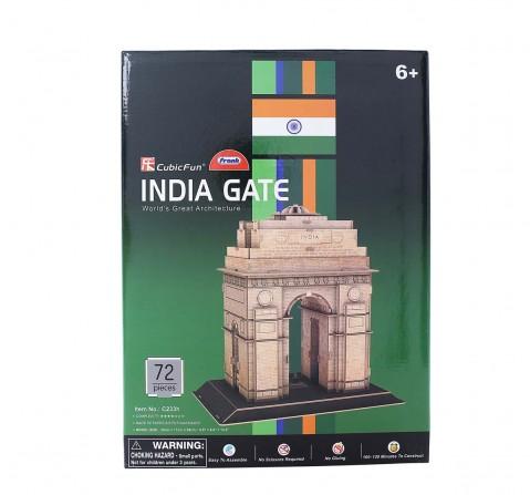 Cubicfun India Gate 3D Puzzles for Kids age 6Y+