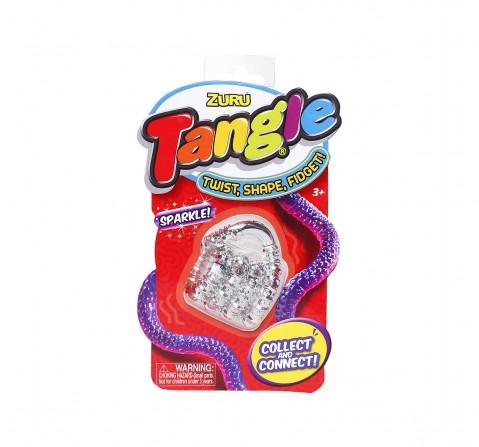 Zuru Tangle Metallic Fidget Impulse Toys for Kids age 3Y+ (Blue)