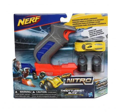 Nerf Nitro Throttle Shot Blitz Tracksets & Train Sets for Kids age 3Y+