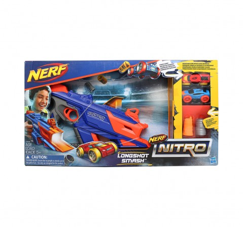 Nerf Nitro Longshot Smash, Multi Color Tracksets & Train Sets for Kids age 5Y+