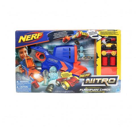 Nerf Nitro Flash Fury Chaos Tracksets & Train Sets for Kids age 5Y+