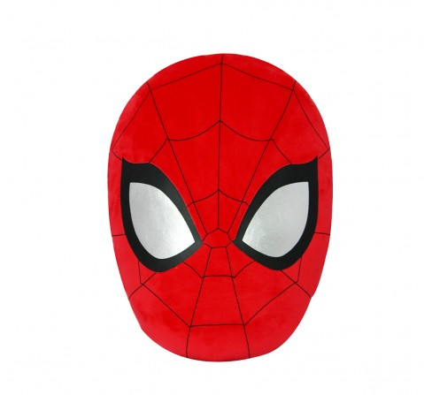 Marvel Disney Spiderman Face Playtoy Plush Accessories for Kids age 12M+ - 35.5 Cm