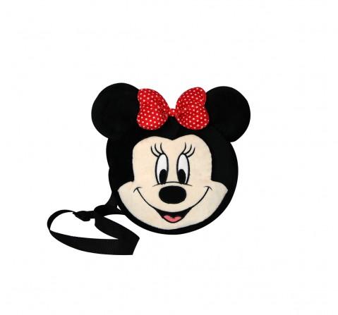 Disney Minnie Shape Side Bag Plush Accessories for Kids age 12M+ - 19.05 Cm