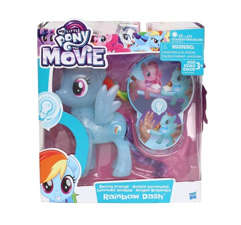 My Little Pony Shining Friends Rainbow Dash Figure Collectible Dolls for Girls age 3Y+
