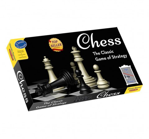 Sterling Chess Board Game, Unisex, 7Y+(Multicolour)