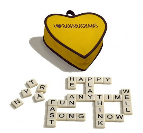Banangrams I Heart Word Game for Kids age 6Y+