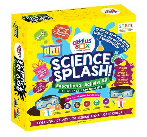 Genius Box Science Splash Kit Science Kits for Kids age 5Y+