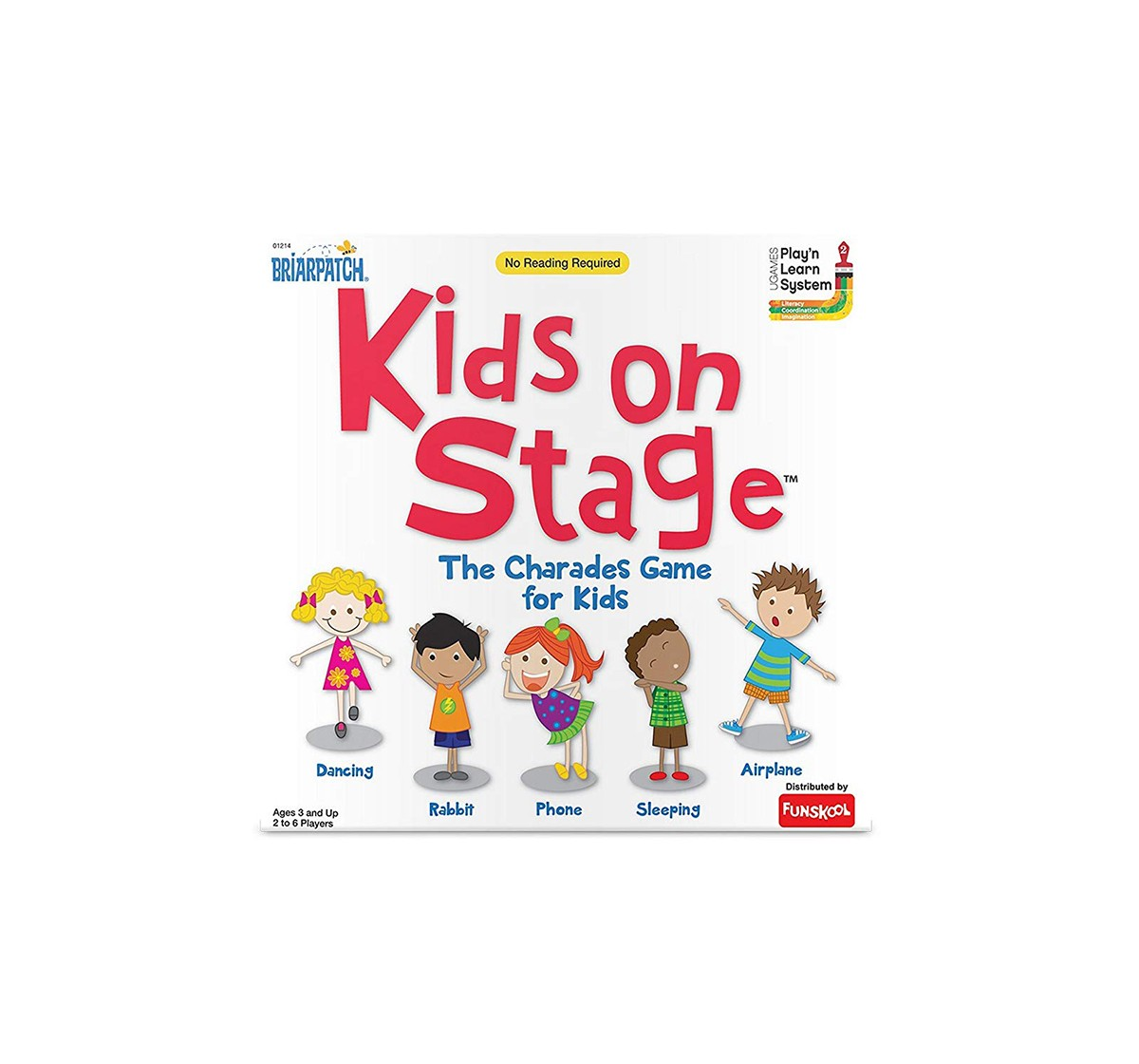 Funskool Games Kids On Stage,Multi Color Board Games for Kids age 3Y+