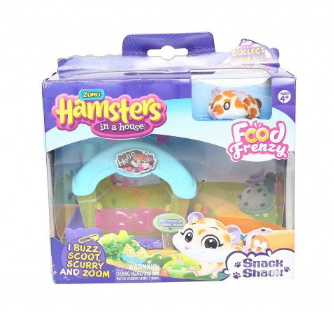 Hamster In A House Series 2 Little Plays(Multicolor) Collectible Dolls for Girls age 4Y+