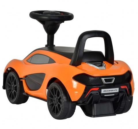 Chilokbo Mclaren P1 Push Car Orange First Rideons for Kids age 3Y+