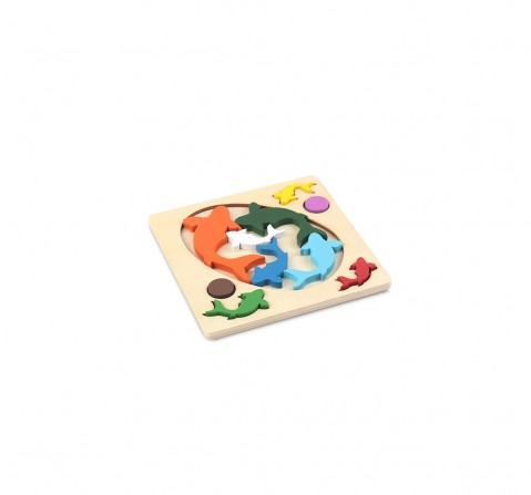 Mi Puzzles Fitting 2 In 1 Games for Kids age 6Y+