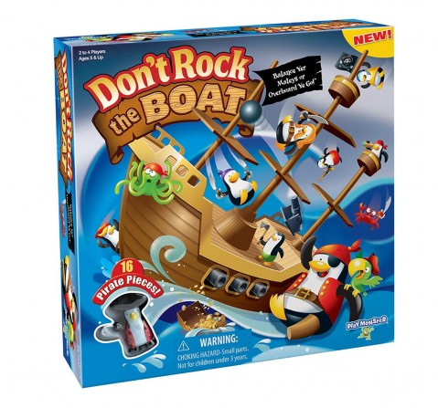 Playmonster Don't Rock The Boat Action Game Games for Kids age 5Y+