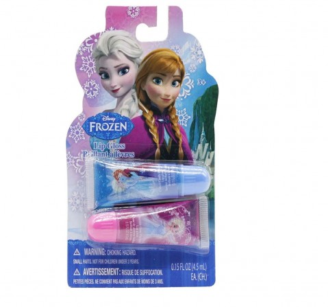 Townley Girl Disney Frozen Lip Gloss – Two Pack, Multi Color Diy Art & Craft Kits for Kids Age 3Y+