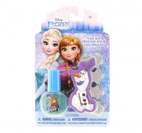 Disney Townley Girl Frozen Nail - Single Pack DIY Art & Craft Kits for Kids age 3Y+