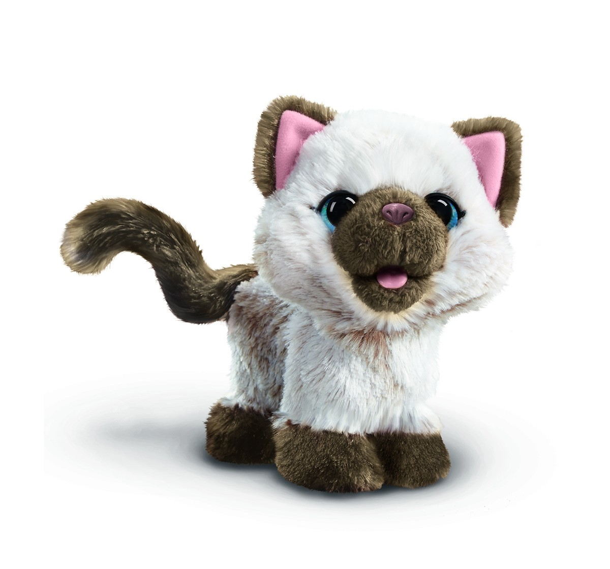 Friends Furreal Kami, My Poopin' Kitty Interactive Soft Toys for Girls age 4Y+ - 24.1 Cm