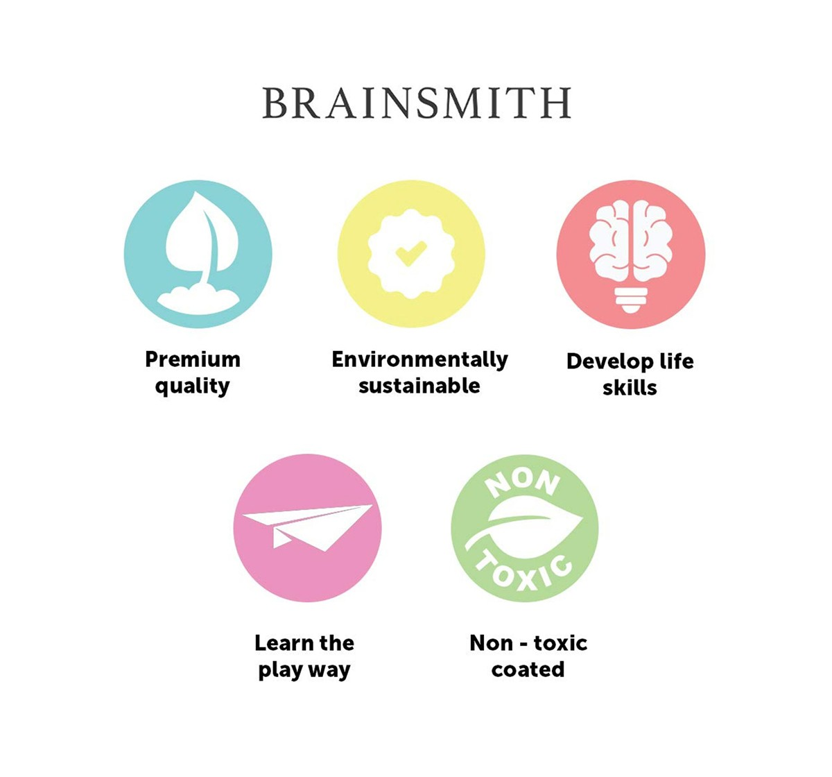 Brainsmith Magnetic Fishing Wooden Toy for Kids age 2Y+
