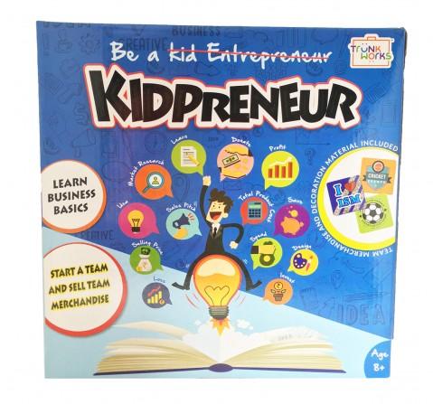 Trunk Works Kidpreneur - Sports Team Version Games for Kids age 8Y+