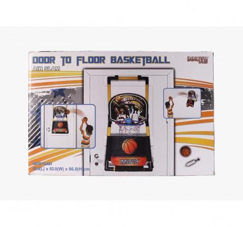 Black Hostfull Door To Floor Basketball Indoor Sports for Kids age 5Y+