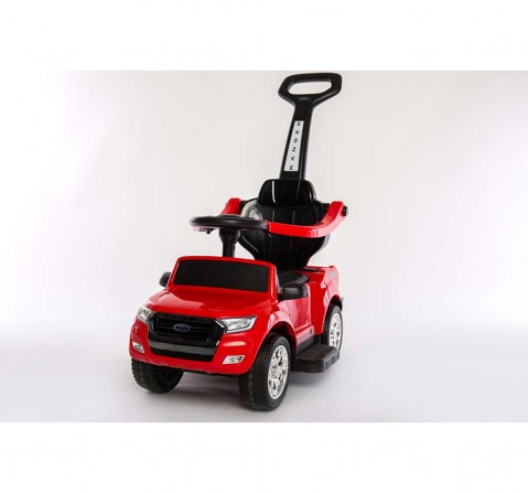 Dk Pedal Car Canopy - Red Battery Operated Rideons for Kids age 3Y+