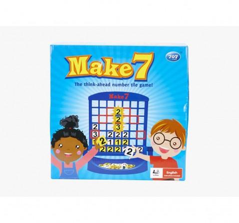 Comdaq Blue Make 7 Board Games for Kids age 3Y+