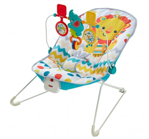 Fisher Price Carnival Bouncer Baby Gear for Kids Age 0M+