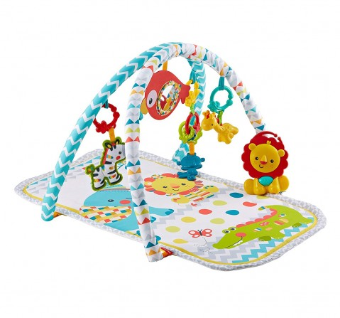 Fisher Price Colourful Carnival 3-In-1 Musical Activity Gym (Multi Color) Baby Gear for Kids age 12M+