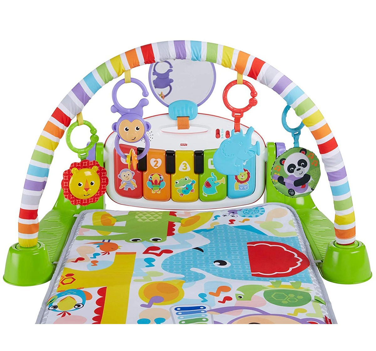 Fisher Price Deluxe Kick And Play Piano Gym Baby Gear for Kids age 6M+