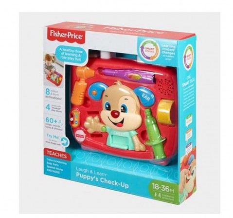 Fisher Price Laugh And Learn Puppy'S Check-Up Kit Learning Toys for Kids age 18M +