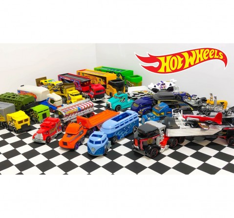 Hot Wheels Super Rigs Die Cast Cars Vehicles for Kids age 3Y+