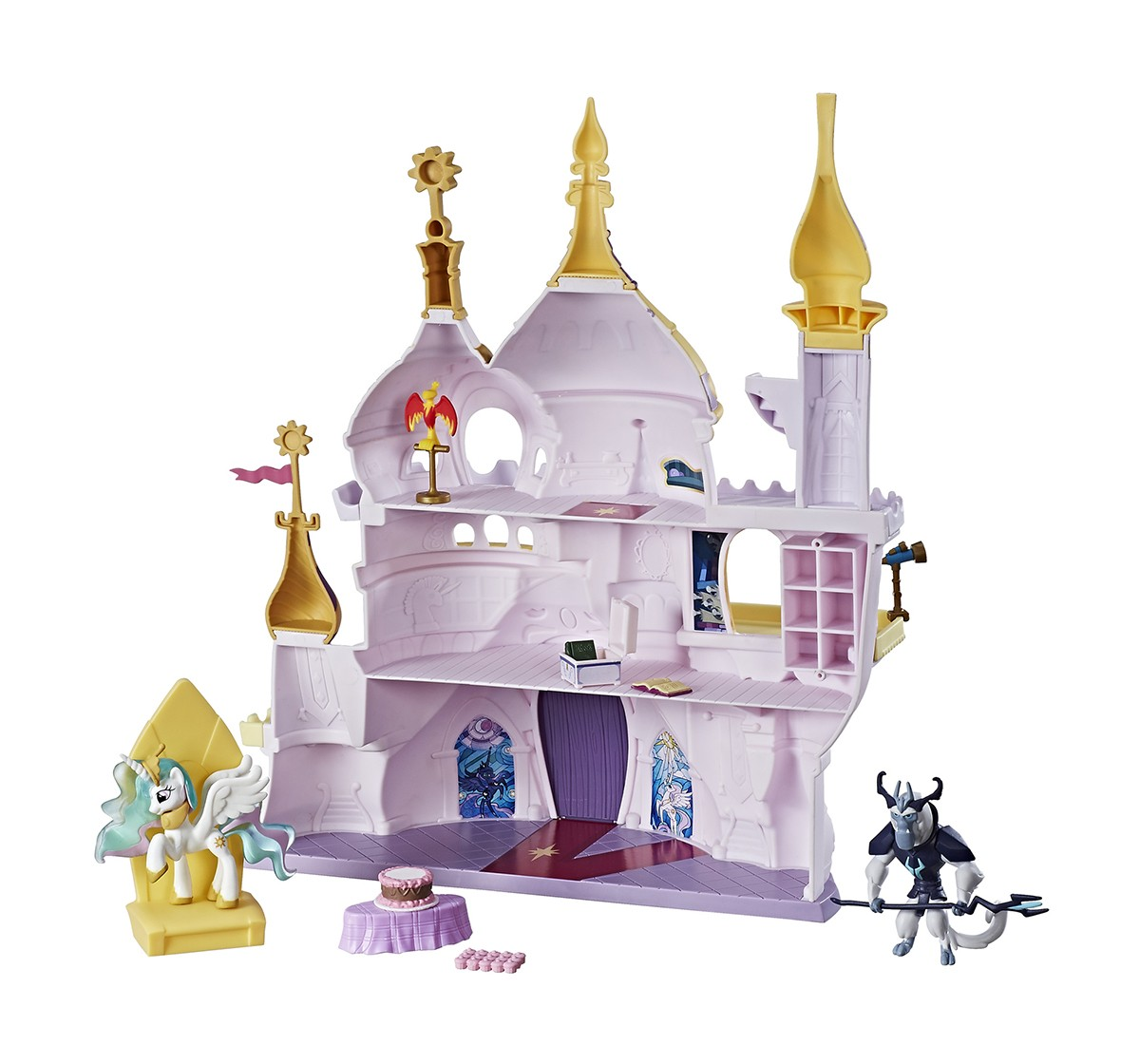My Little Pony Friendship Is Magic Collection Canterlot Castle Playset Collectible Dolls for Girls age 3Y+