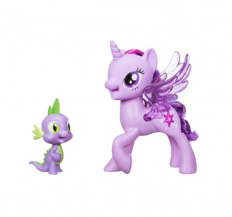My Little Pony Princess Twilight Sparkle Spike The Dragon Friendship Duet Collectible Dolls for Girls age 3Y+