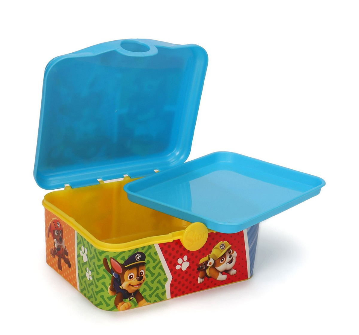 Stor Full Deco Sandwich Box With Tray Paw Patrol Colors, 2Y+ (Blue)