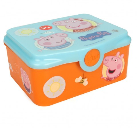 Stor Full Deco Sandwich Box With Tray Peppa Pig Core, 2Y+ (Multicolor)