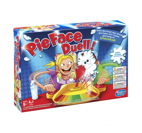 Hasbro Pie Face Showdown Game Games for Kids age 5Y+