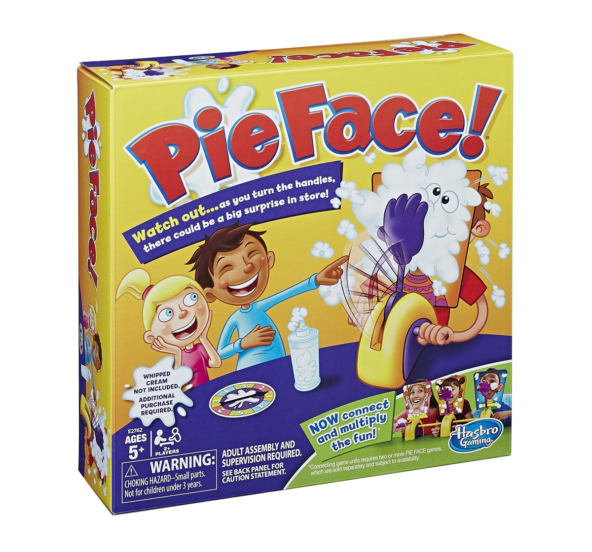 Hasbro Pie Face Game Games for Kids age 5Y+