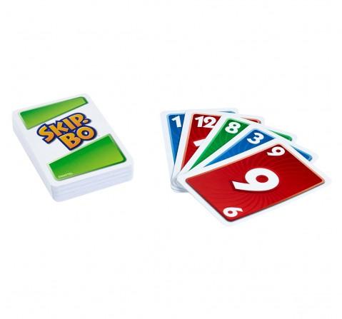 Mattel Games Skip Bo Card Game for Kids age 7Y+