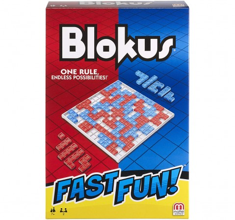 Mattel Games Blokus Fast Fun Games for Kids age 5Y+