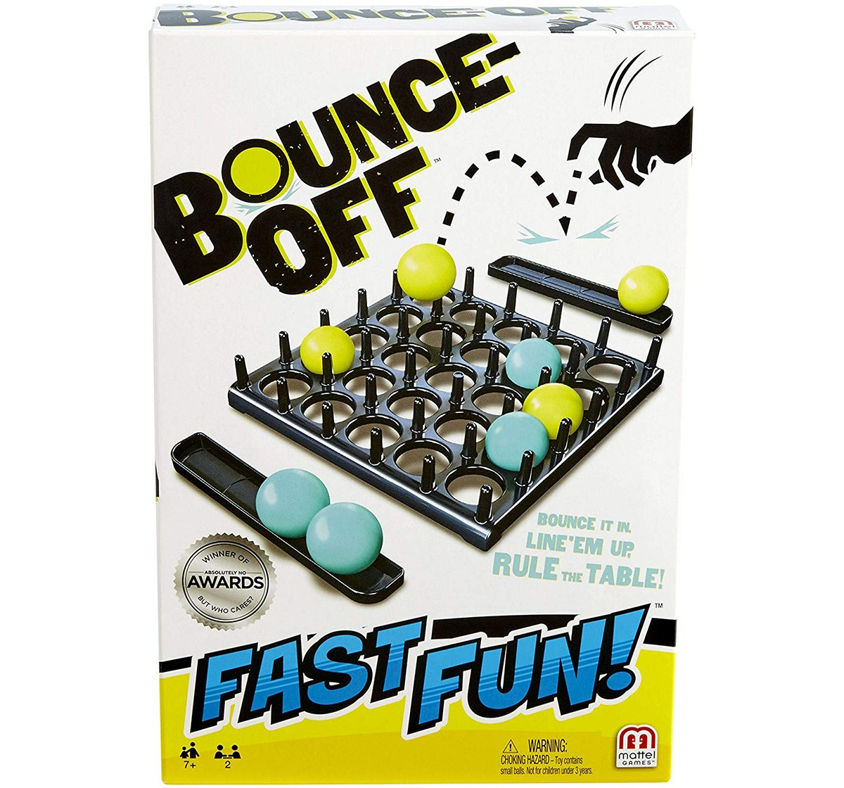 Mattel  Mattel Games Bounce-Off Fast Fun Games for Kids age 5Y+