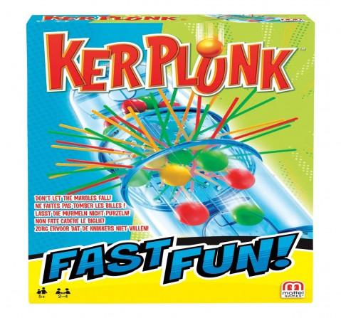 Mattel Kerplunk Fast Fun Games for Kids age 5Y+